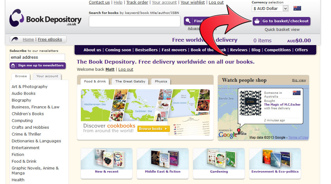 Book depository coupon code